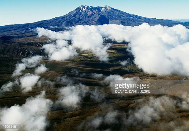 Mount Ruapehu Central Plateau Tongariro National Park North Island New Zealand