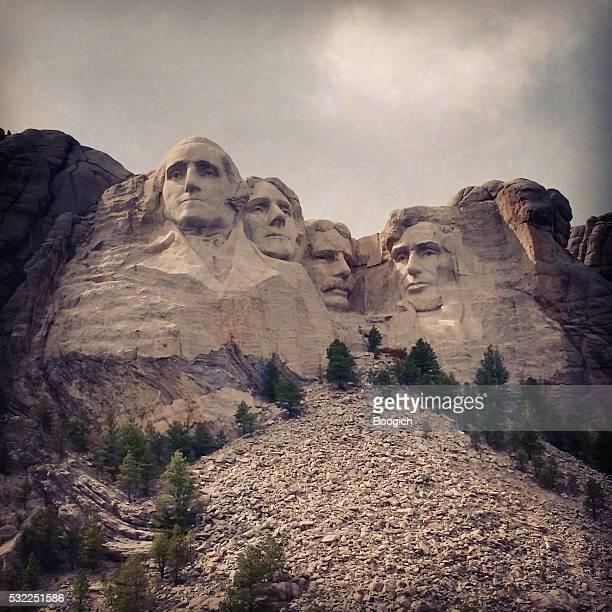実装 ラシュモア 国家的ランドマークアメリカ大統領