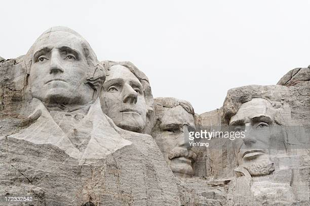 実装 Rushmore 国定史跡、米国大統領に山ストーン