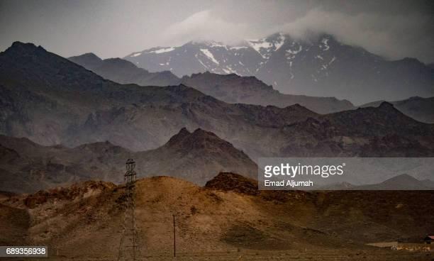 Mount Shahankuh in Isfahan province, Iran - 27 April 2017