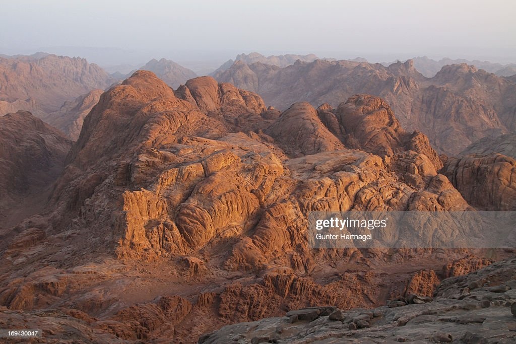 Mount Sinai in early morning light