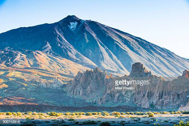 Mount Teide with volcanic rock formations Tenerife