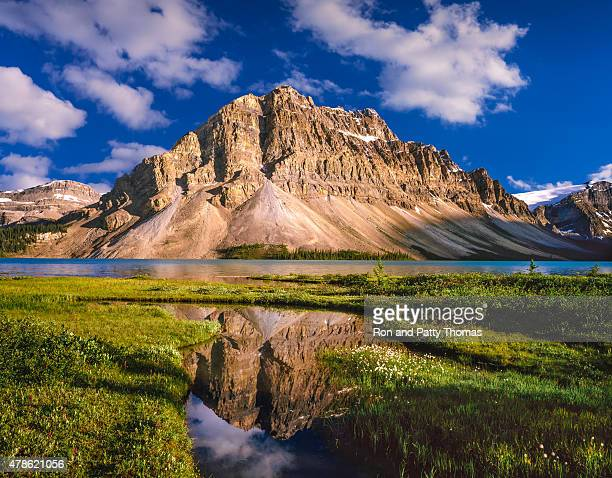 Mount Thompson in the Canadian Rockies of Banff NP, Canada
