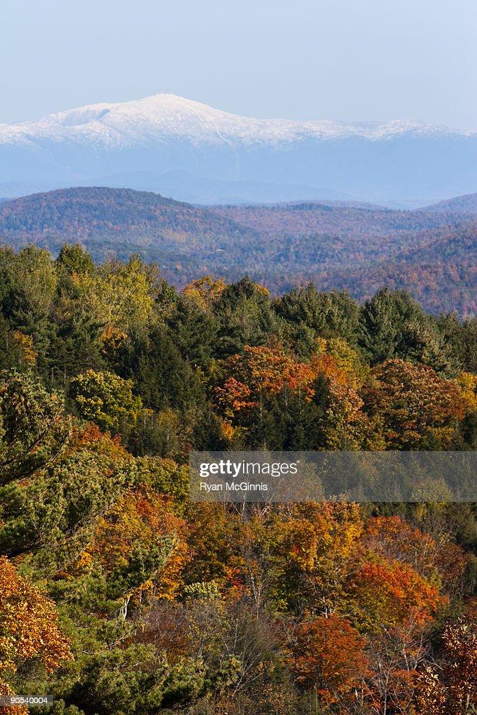 Mount Washington in the Fall