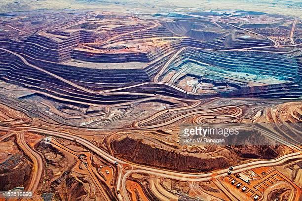 Mount Whaleback iron ore mine, Newman, Australia