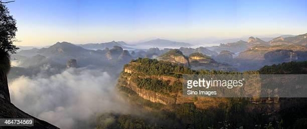 Mount Wuyi scenery