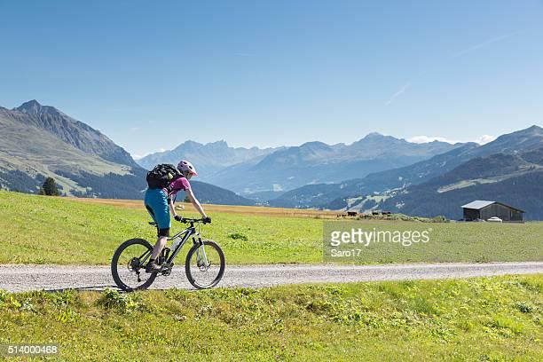 Mountaibike region Lenzerheide, Switzerland