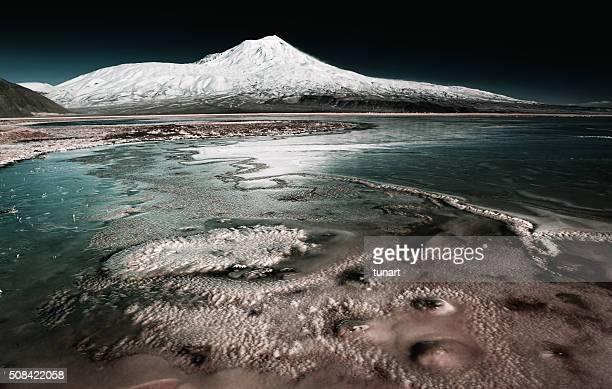 Montagne Agri (Ararat), en Turquie