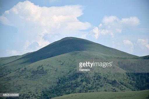 Mountain and sky : Stock Photo
