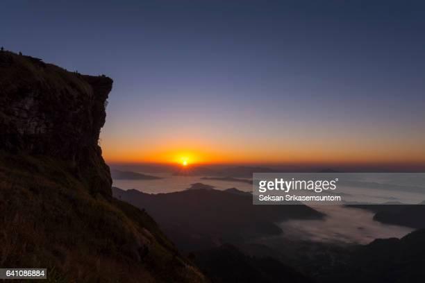 Mountain at Sunrise