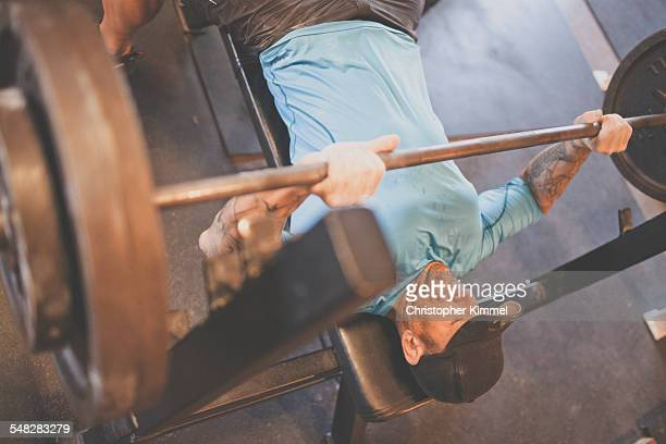 Mountain Athlete Training - Working out at the gym.
