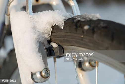 Mountain Bike Brakes : Stock Photo
