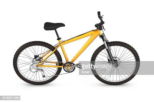 mountain bike isolated on white background 3d render : Foto de stock