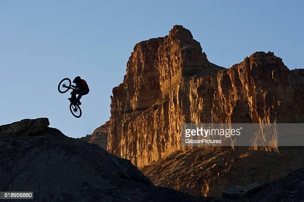 Mountainbike-Jump