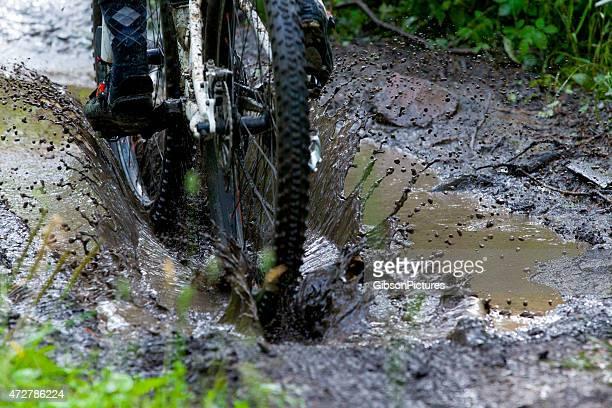 Mountain Bike Mud Puddle