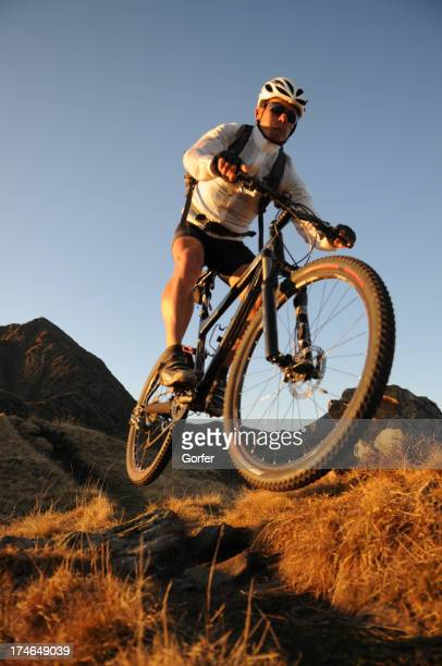 Mountainbike racer