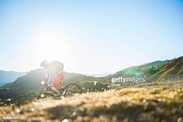 downhill-Mountainbiker