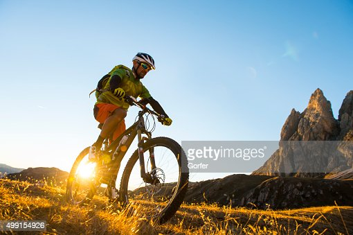 Mountain bikers attack