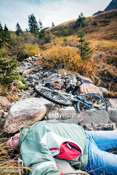 mountain biking accident