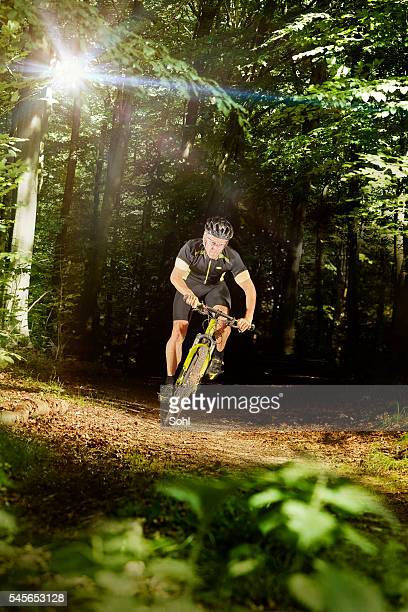 Mountain Biking and lense flare