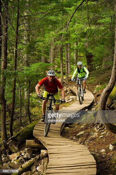 Mountain Biking Couple