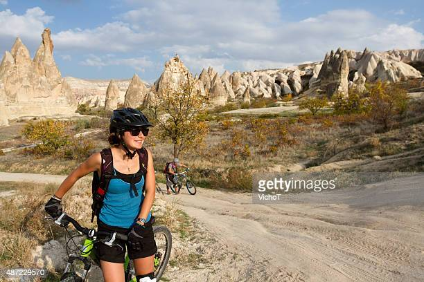 Mountain biking experience in a picturesque area of Cappadocia