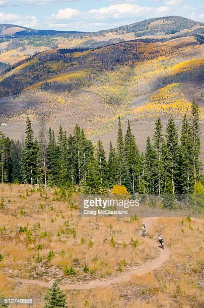 Mountain Biking in Vail, Colorado