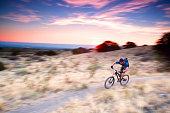 mountain biking speed