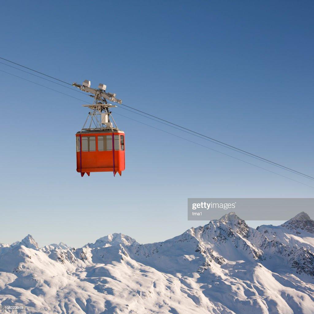 Mountain Cable Car : Stock Photo