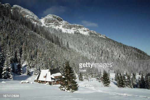 Mountain chalet : Stock Photo