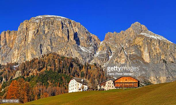 Mountain farm near Colfosco, South Tyrol