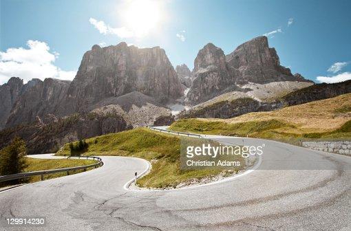 Mountain Hairpin Road