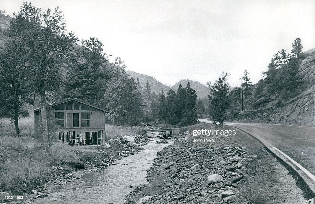 JUL 22 1977 JUL 23 1977 JUL 29 1977 Mountain home has been cleaned up but awaits repairs The house damaged by Floodwater racing through its daylight...