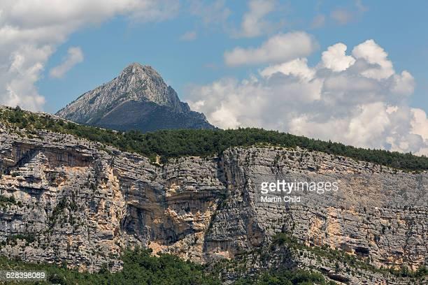 Mountain in the Gorges du Verdon