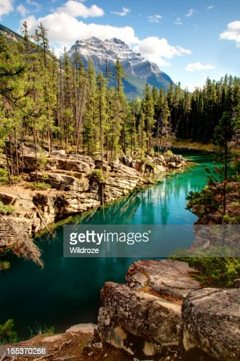 Mountain lake, Banff National Park