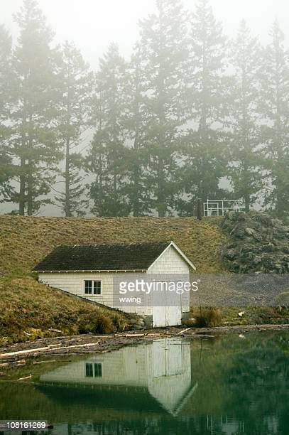 Mountain Lake Boat House