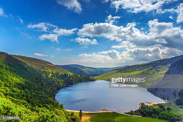 Mountain lake in Ireland: Lough Tay, County Wicklow