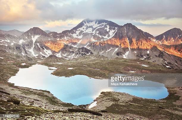 Mountain lake in Pirin National Park