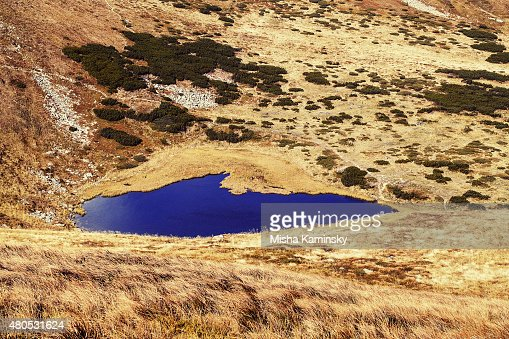 Lac de montagne : Photo