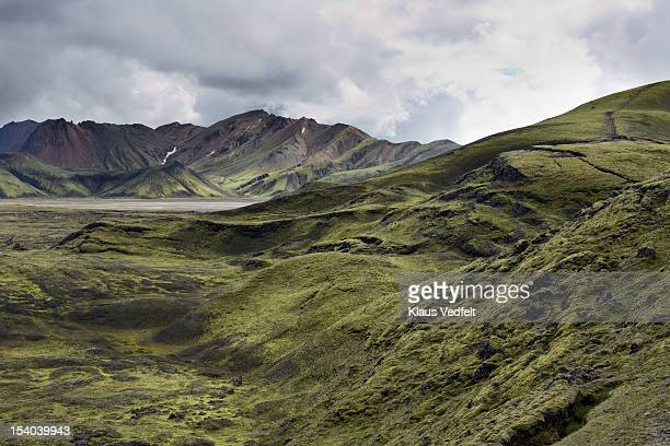 Mountain landscape in Landmannalaugar