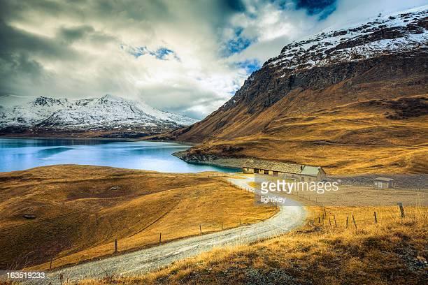 Paysage de montagne de panorama