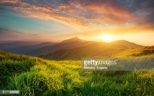 Mountain landscape : Stock Photo