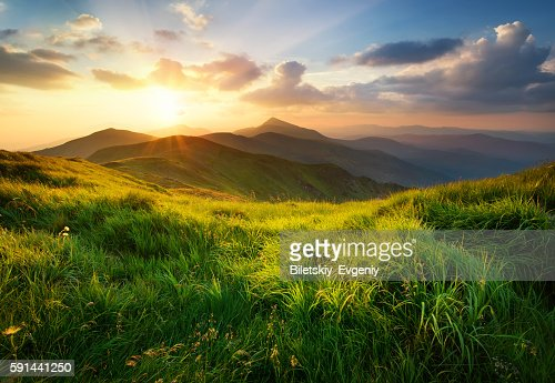 Mountain landscape : Stock Photo