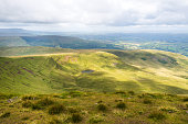 Mountain Landscape, Storey Arms, Brecon Beacons, South Wales, UK