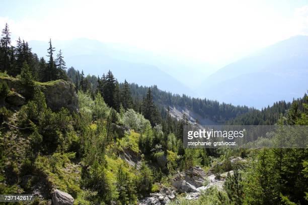 Mountain landscape, Wallis, Switzerland