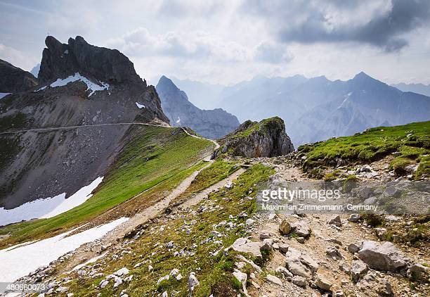 Mountain landscape with path