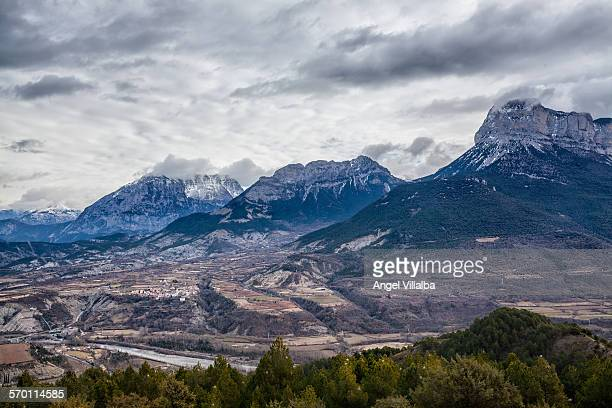 Mountain massif of Monte Perdido. Pyrenees