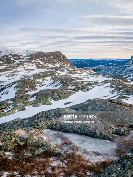 Mountain range in Hemsedal