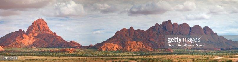 Mountain range, Spitzkop, Namibia