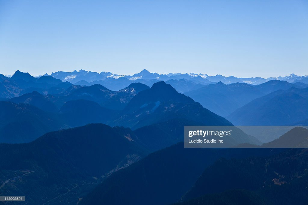 Mountain ranges : Stock Photo